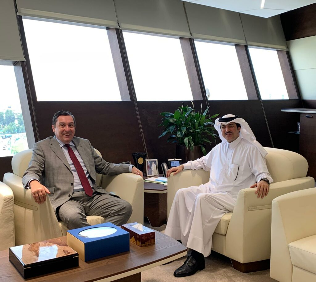 New British Ambassador to Qatar discusses bilateral trade ties with free zones