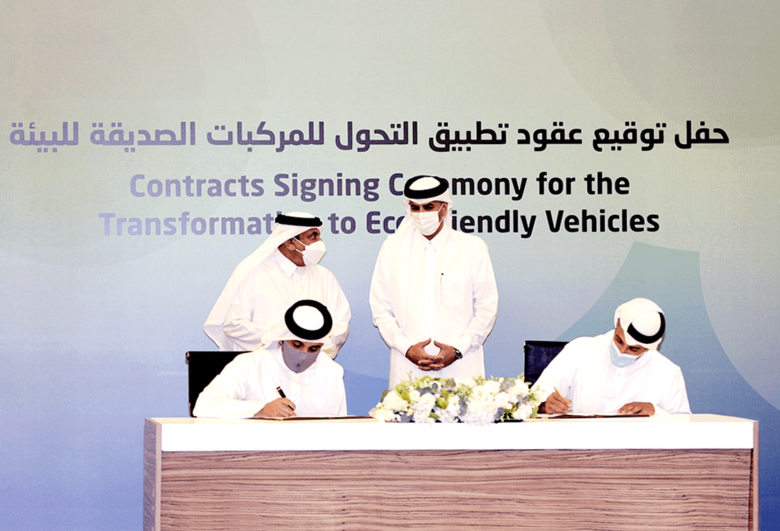 Framework agreement signed to manufacture E-Buses in Qatar Free Zones
